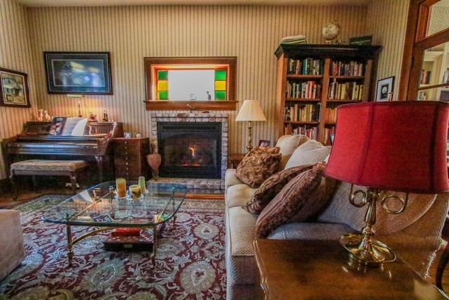 Living room at Nightingales
